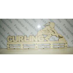 Curling lány 4 osztásos 2 soros