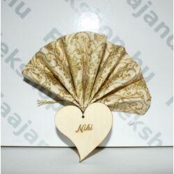 Ültető szív alakú 30 db/csomag