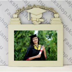Első diplomám feliratú képkeret 13x18 cm fotókhoz